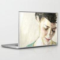 amelie Laptop & iPad Skins featuring Amelie Poulain  by Stefan Harris