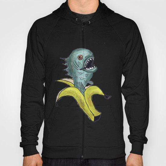 piranha banana Hoody