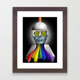 'Gay conversion therapy' Framed Art Print