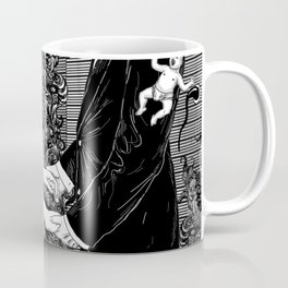 White Wedding Coffee Mug