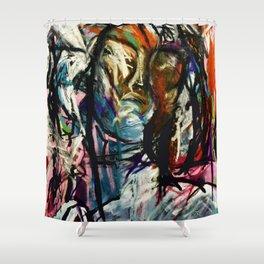 Insomnia 1 Shower Curtain