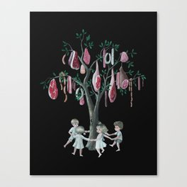 The Meat Tree Canvas Print