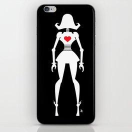 Girl Bot iPhone Skin