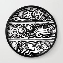 Codex pattern Wall Clock