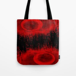 RED MOON FOREST Tote Bag