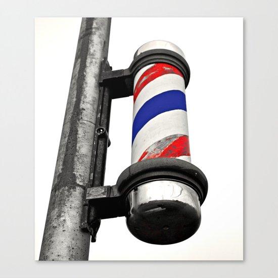 Haircuts here Canvas Print