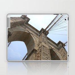 A Different View of The Brooklyn Bridge  Laptop & iPad Skin