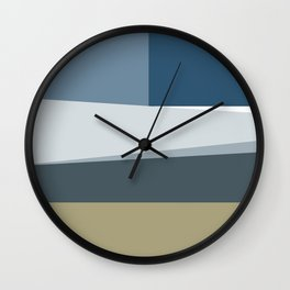 Santa Monica Horizon Midday Wall Clock