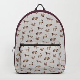 Folded Forest - Geometric Origami Animals Pattern Backpack