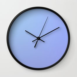 BLACKOUT - Minimal Plain Soft Mood Color Blend Prints Wall Clock