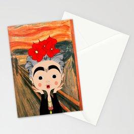 O Grito da Frida Stationery Cards