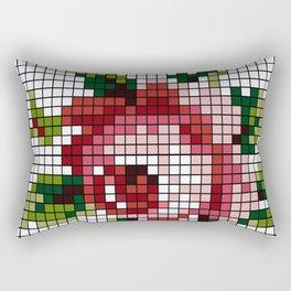 Shabby Chic Rose Rectangular Pillow