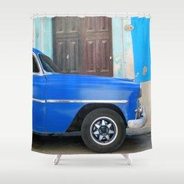 Habana Blue Shower Curtain
