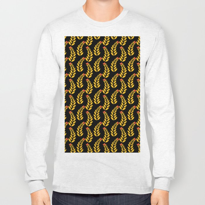 leaf pattern 1 Long Sleeve T-shirt