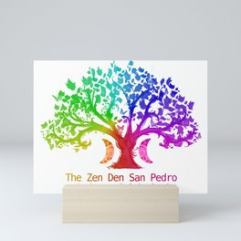 The Zen Den San Pedro Mini Art Print