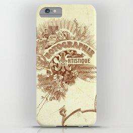 Vintage photo card 3 iPhone Case