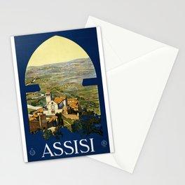 Vintage Poster of Umbria (c.1920) Stationery Cards