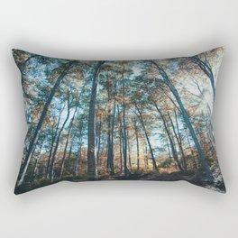 into the woods 07 Rectangular Pillow