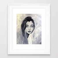 karen Framed Art Prints featuring Karen by Pamela Schaefer