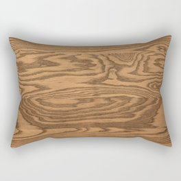 Wood 4 Rectangular Pillow