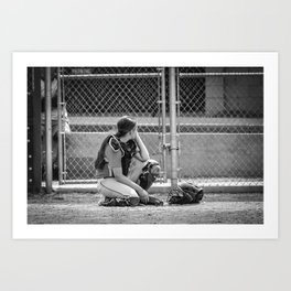 Catcher in Thought Art Print
