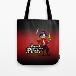 Support your local Pirate Tote Bag
