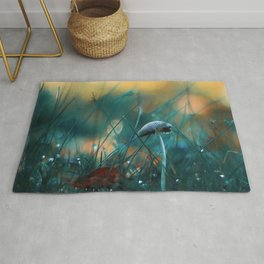 Fire in the Water Rug