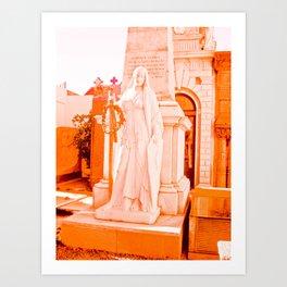 Mother of La Recoleta. Art Print