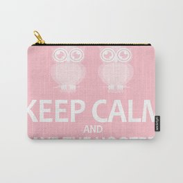 Keep calm and save the hooters Carry-All Pouch