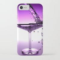 martini iPhone & iPod Cases featuring Martini by Littlebell