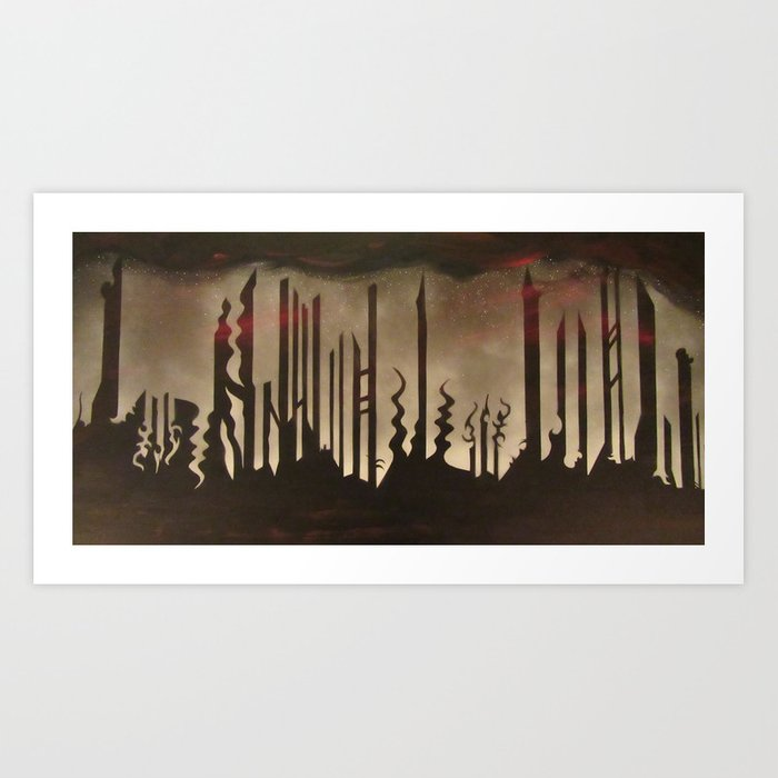 City of Nowhere Art Print