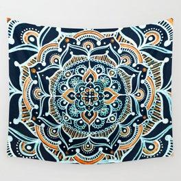 Bohemian Zen Mandala Wall Tapestry
