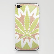The Cannabis Case. iPhone & iPod Skin