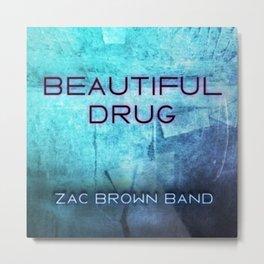 ZAC BROWN BAND IYENG 12 Metal Print