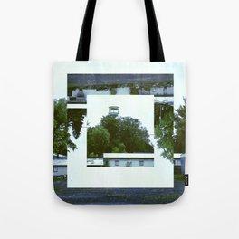 Decoy Geometry Overgrown Tote Bag