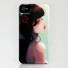 La Cantatrice en greve... iPhone (4, 4s) Slim Case