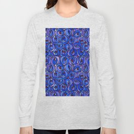 "Charles Rennie Mackintosh ""Roses and teardrops"" edited 4. Long Sleeve T-shirt"