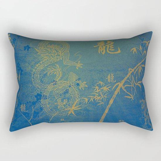 Legend Of The Dragon Rectangular Pillow