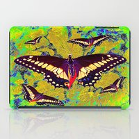 butterflies iPad Cases featuring butterflies  by  Agostino Lo Coco