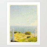 Pemaquid Point, Gate to the Ocean  Art Print