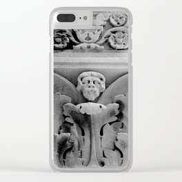 Acanthus Man Clear iPhone Case