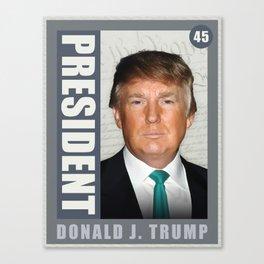 President Donald J. Trump Canvas Print