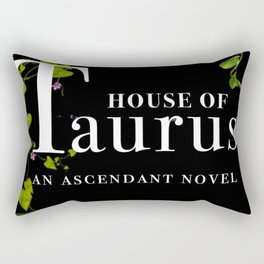 House of Taurus Cover Rectangular Pillow