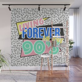 The 90's Wall Mural