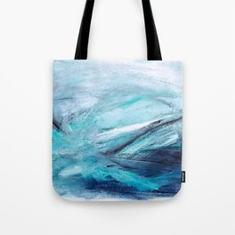 Iceland Blues Tote Bag