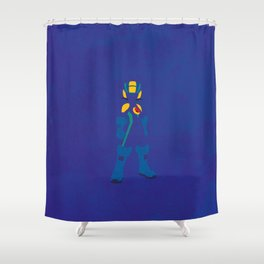 Mega EXE Shower Curtain