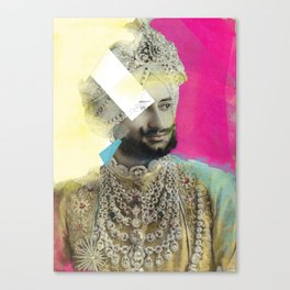 The Three Maharajah's part 2 Canvas Print