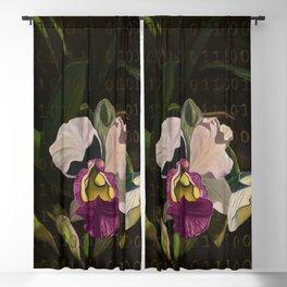 hawaiian orchids_katallie Blackout Curtain