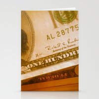bill Stationery Cards featuring $bill by Nick Nichols