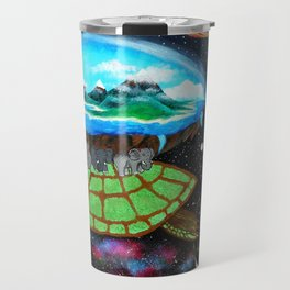 Cosmic Turtle Journey Through Space Travel Mug